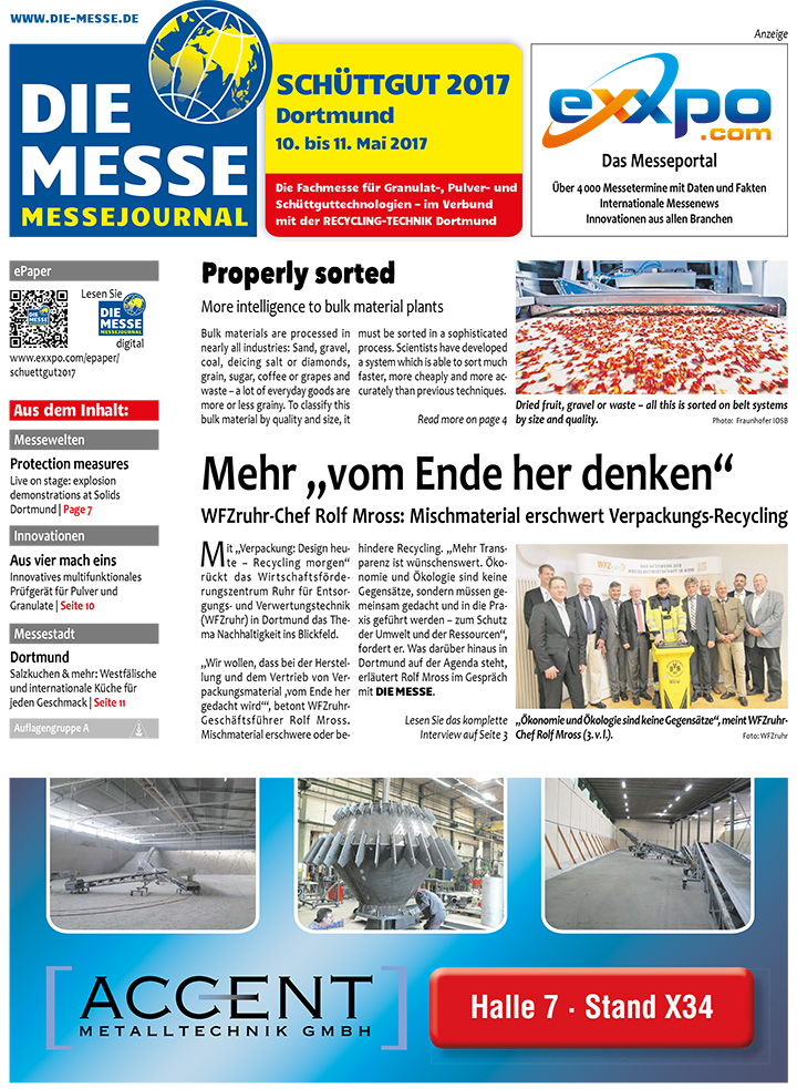 Search Results For Schuttgut Die Messe Trade Fair Journal